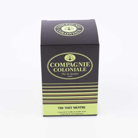 Thé vert menthe Berlingo x25- Thés Compagnie Coloniale©