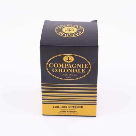 Thé Earl Grey Supérieur Berlingo x25 - Thés Compagnie Coloniale©