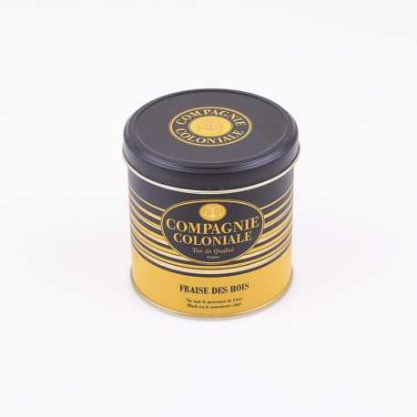 Thé noir Fraise des bois boîte de luxe - Thés Compagnie Coloniale©