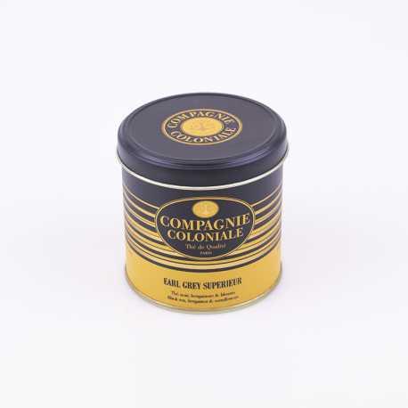 Thé Earl Grey Supérieur boîte de luxe - Thés Compagnie Coloniale©