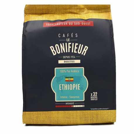 Café éthiopie en dosettes souples le bonifieur compatible SENSEO®*
