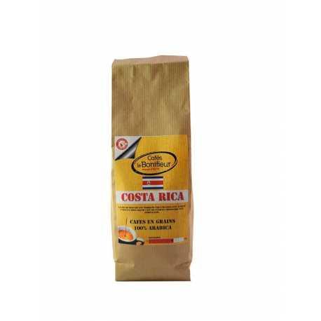 Café en grain Costa Rica grains premium arabica robusta bonifieur