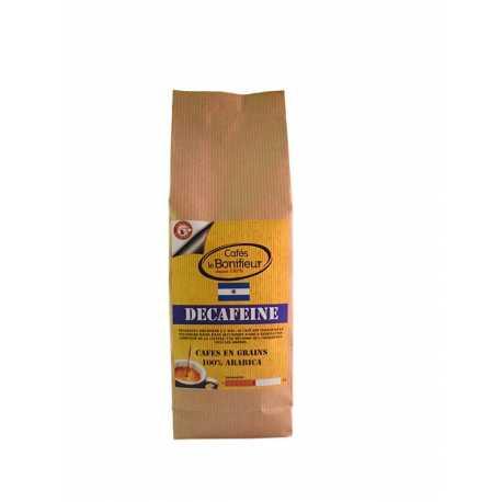 Café en grain Décaféiné grains premium arabica robusta bonifieur