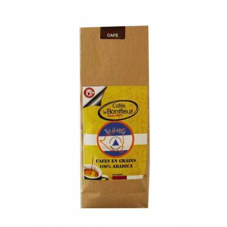Café en grain nicaragua mombacho cafés Premium bonifieur torréfaction artisanale