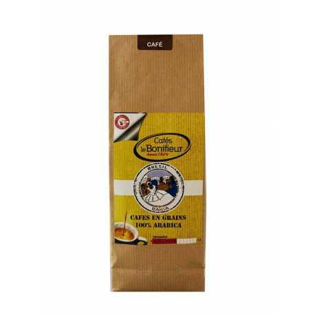 Café en grain Brésil Bahia cafés Premium bonifieur torréfaction artisanale