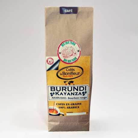 Café en grain Burundi Kayanza Akarusho cafés torréfacteur français Bonifieur