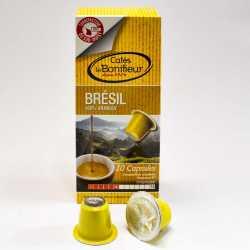 Capsules café compatibles machines Nespresso Bonifieur