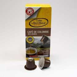capsules cafe colombie arabica compatible nespresso