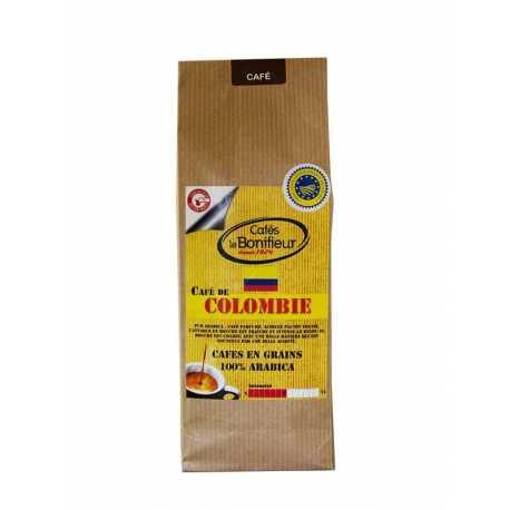 Café moulu de Colombie premium arabica robusta bonifieur