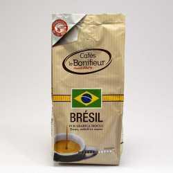 Café moulu Brésil Premium 100% arabica cafés le bonifieur
