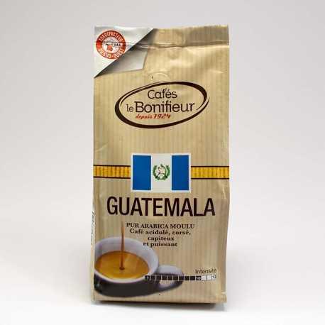 Café moulu pures origines Guatemala arabica bonifieur tooréfacteur sud-ouest