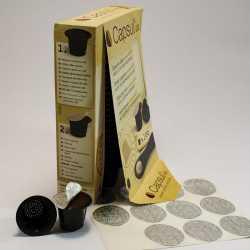Capsul'in boite de 100 capsules compatibles Nespresso®