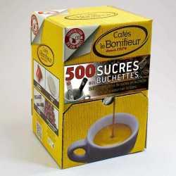Boite distributrice 500 sucres en buchette cafés le BONIFIEUR