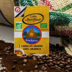 Café Biologique HONDURAS gamme Premium cafés le bonifieur