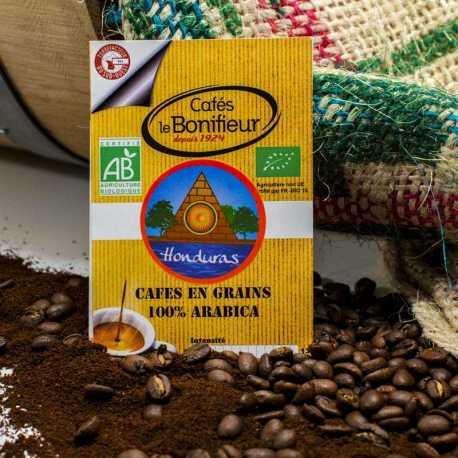 Café BIO lavé HONDURAS gamme Premium cafés le bonifieur