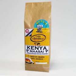 Café grain ou moulu premium Kenya Bio Lavé pur arabica - Cafés le BONIFIEUR