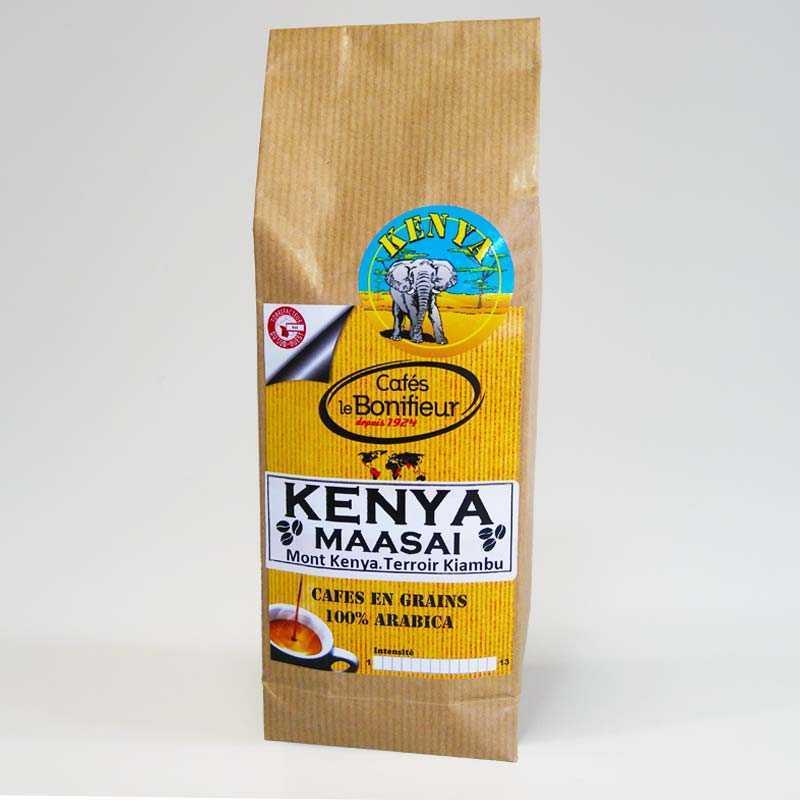 café en grains moulu kenya maasai afrique premium