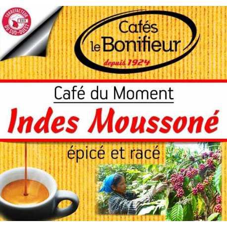 Café du moment indes karnataka malabar moussoné Cafés le Bonifieur