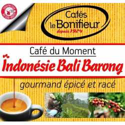 café en grain Indonesie Bali Kintamani Barong moulu Premium bonifieur