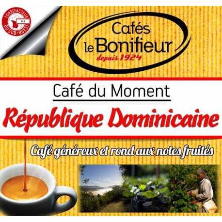 Café en grain République Dominicaine Barahona grains ou moulu premium bonifieur