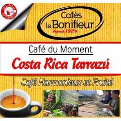 Café en grain Costa Rica Tarrazu grains premium arabica robusta bonifieur