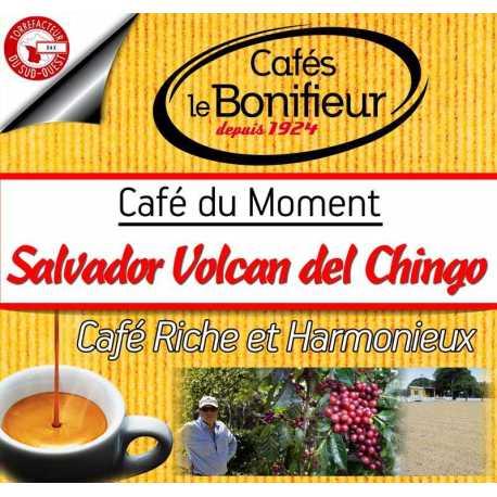 Salvador Volcan del Chingo SHG café en grain Premium torréfacteur français Bonifieur