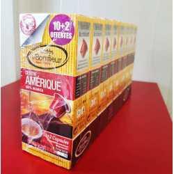Lot de 8 paquets de 12 capsules Centre Amérique Pur Arabica