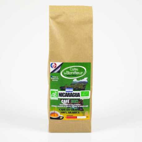 Café BIO NICARAGUA en grain ou moulu 100% arabica