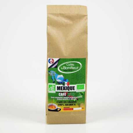 Café BIO MEXIQUE Premium en grain ou moulu 100% arabica 500g