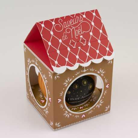 Thé Hiver Austral boule de Noël - Thés Compagnie Coloniale