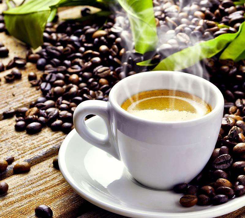 Une tasse de café pur arabica ou robusta, plus qu'à déguster !
