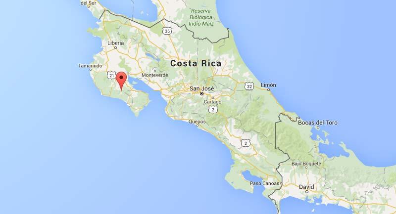 COSTA RICA café d'amérique centrale