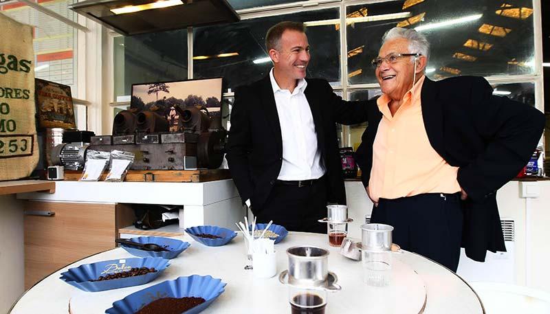 Raymond et Vincent JACQUEMAIN - Cafés le Bonifieur